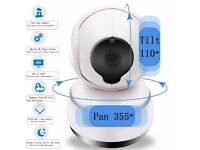 PathingTek 720P HD IP Camera Wireless WIFI Security Cam Full HD