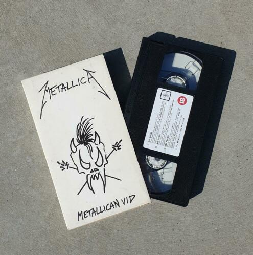 METALLICA METALLICAN VID VHS Video Cassette