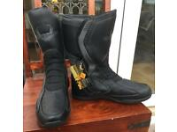 Motorbike Waterproof Ankle Boots Size 9.5 EU 44 and Size 7 EU 41 Brand New