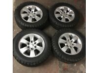 "Genuine 17"" Mitsubishi L200 Alloy Wheels & Tyres {Refurbishment & Brand New Tyres Available!)"