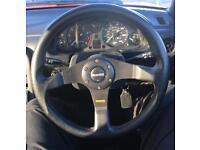 Genuine MOMO Tuner Steering Wheel. Like brand new.