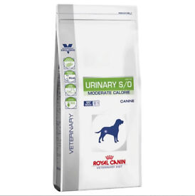Royal Canin Veterinary Diet Dog Urinary S/O Moderate Calorie Dry Dog Food 11KG - Bought in Error