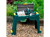 Garden kneeler seat with tool storage - Brand New