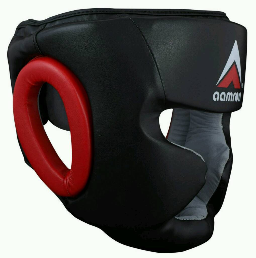 Aamron artificial leather head guards