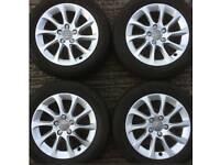 16 inch 5x112 genuine Audi A3 alloy wheels. Caddy / Golf