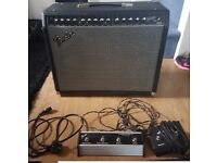 *Fender Stage 100 DSP Amp* with 4way foot switch