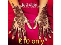 **** Eid Offer Book Now: Henna Artist on your Budgets