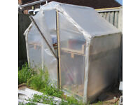 Greenhouse - Made of Strong Pallet Wood - £5, Yes £5