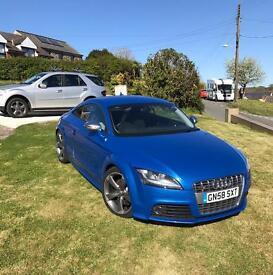 Audi TTS Sprint blue stronic rare