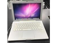 "Macbook Core 2 Duo 2.1 Ghz 4GB Ram 13"" White 2008 Snow Leopard"
