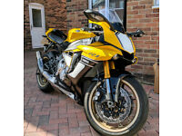 2016 60th anniversary limited edition Yamaha R1-SUPER LOW MILEAGE, as new.