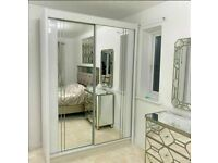 🔮2020 SALE ON TOP QUALITY CHICAGO SLIDING MIRROR WARDROBES WITH 1 YEAR WARRANTY🔮