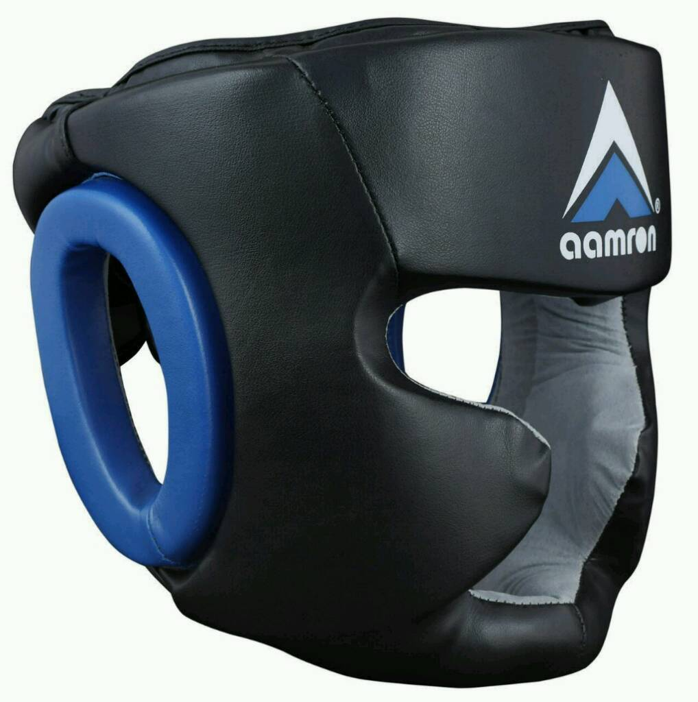 Aamron cowhide Leather head guards