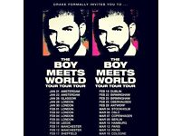 4 x Drake tickets, Leeds first direct arena