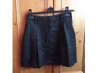 M&S Black School Skirt