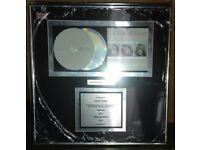 Atomic Kitten Double Platinum Sales Award