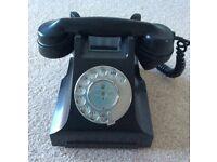 Bakelite vintage telephone