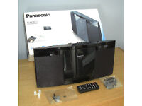 Panasonic SC-HC297EB-K Micro HiFi USB Bluetooth DAB+ mp3 CD Player