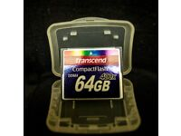 Transcend 64B Compact Flash Card