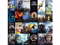 Try before you buy .LATEST cinema films bollywood and hollywood HD 6 for 10 (collect today)