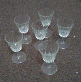 Crystal glass's