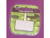 A brand new, sealed Masterplug ADSL Adapter