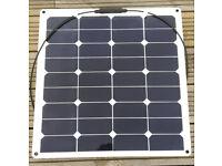 BRAND NEW 50W flexible solar panel Titan-Energy UK boats, caravans, motorhomes...