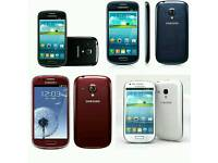 Brand New Orignal Samsung Galaxy S3 Mini Uk Stock GT-I8190-8GB-Black,White,Blue(Unlocked)