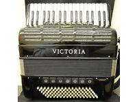 Victoria Accordion Double Cassoto, 96 Bass 34 Note