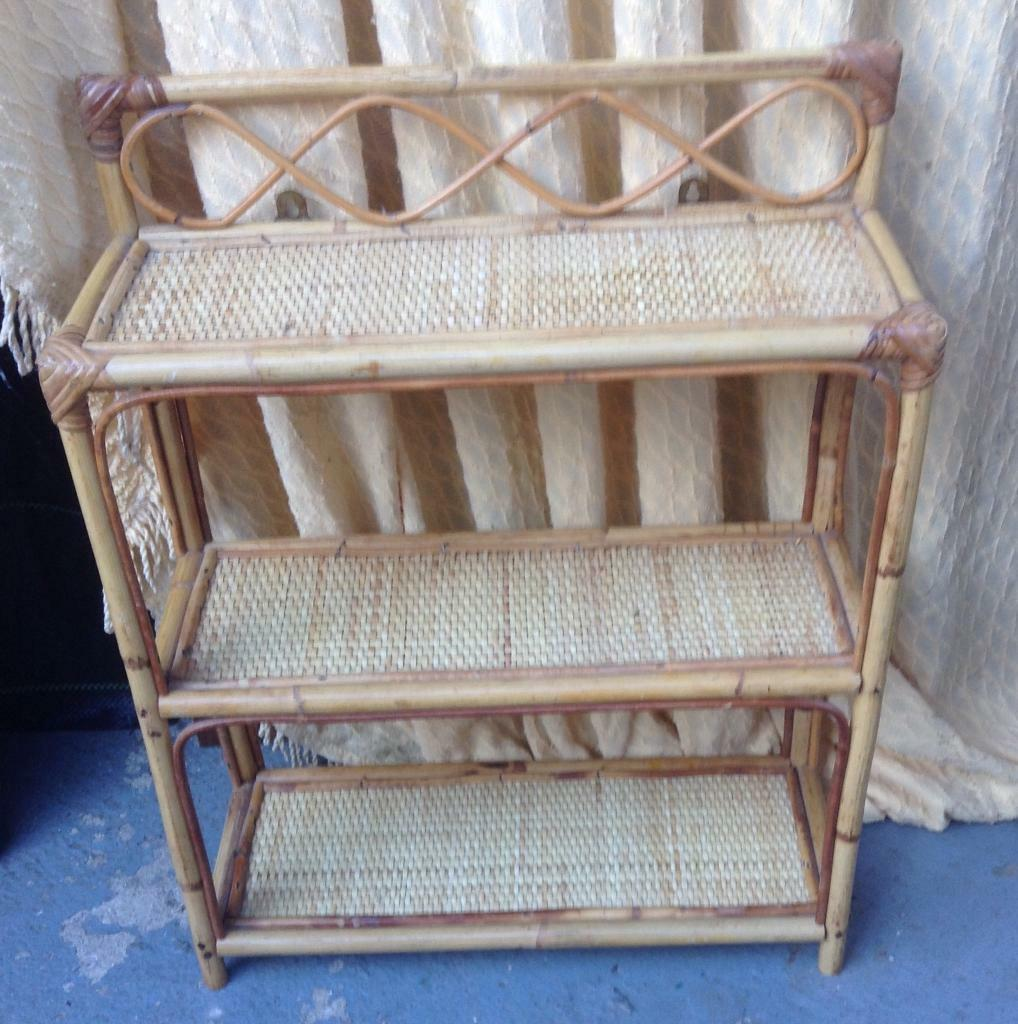 Small Rattan Shelf