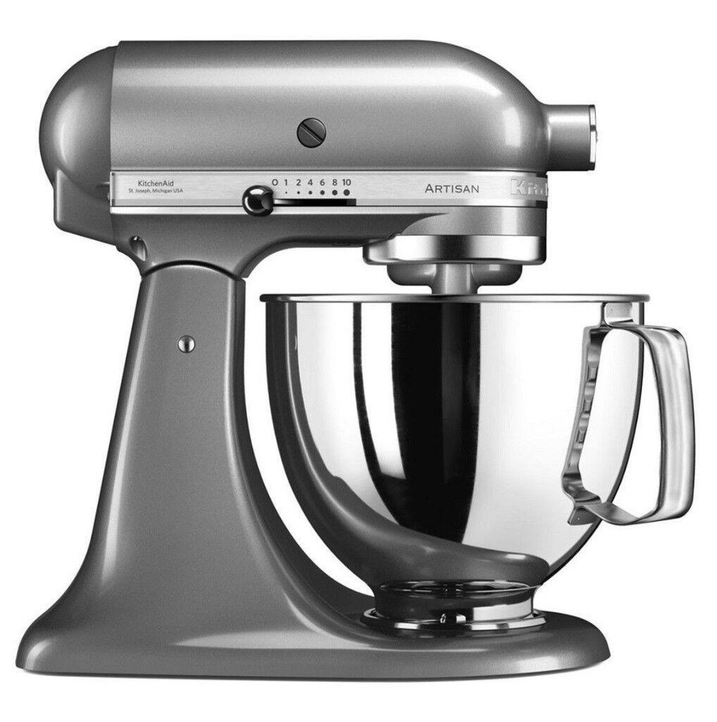 Kitchenaid 5ksm125bcu Artisan Stand Mixer 300 Watt Silver New In