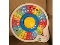 Leapfrog Alphazoo Spinner Abc Alphabet Spin Baby Toy used very good Condition