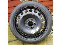 """Vauxhall Vectra C, Astra Mk5, Zafira B Space Saver Spare Wheel 16 """"Tyre is New and Unused"""