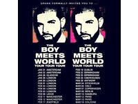 "2x Drake tickets Tier 213 ""GOOD SEATS"""