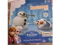 Frozen Frustration game