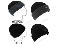 Unisex Thinsulate Acrylic Extra Warm Winter Knitted Wooly Beanie Thermal Hat Wholesale Cheap Price