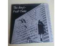 Vinyl single - - - The Boys: First Time, Watch Gonna Do/ Turning Grey (1977- NES111)