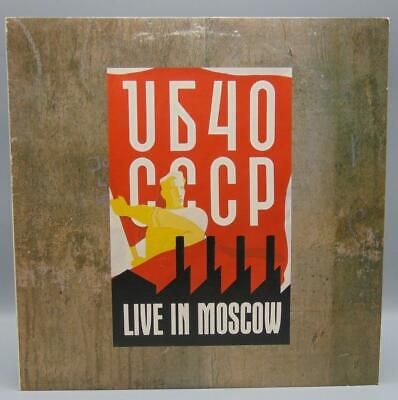 CCCP Live In Moscow UB40 Record Album LP SP-5168 A & M Records comprar usado  Enviando para Brazil