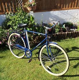 Mens Vintage Raleigh Chiltern 3 Speed Bike