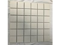 Waxman Porcelain Anti-Slip Mosaic Floor/Wall Tiles