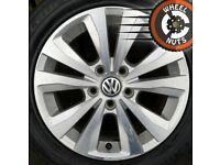 "16"" Genuine VW Golf Toronto alloys good cond excel tyres."