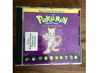 Pokemon the First Movie Official Sound Track (vintage!)