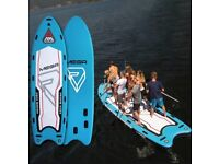 Paddle board up to 6 paddlers - MEGA SUP paddleboard for HIRE - kayak available