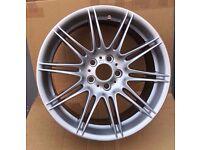 "Genuine Rear 9j BMW MV4 19"" 225 M Sport E90 E92 E93 Alloy Wheel"