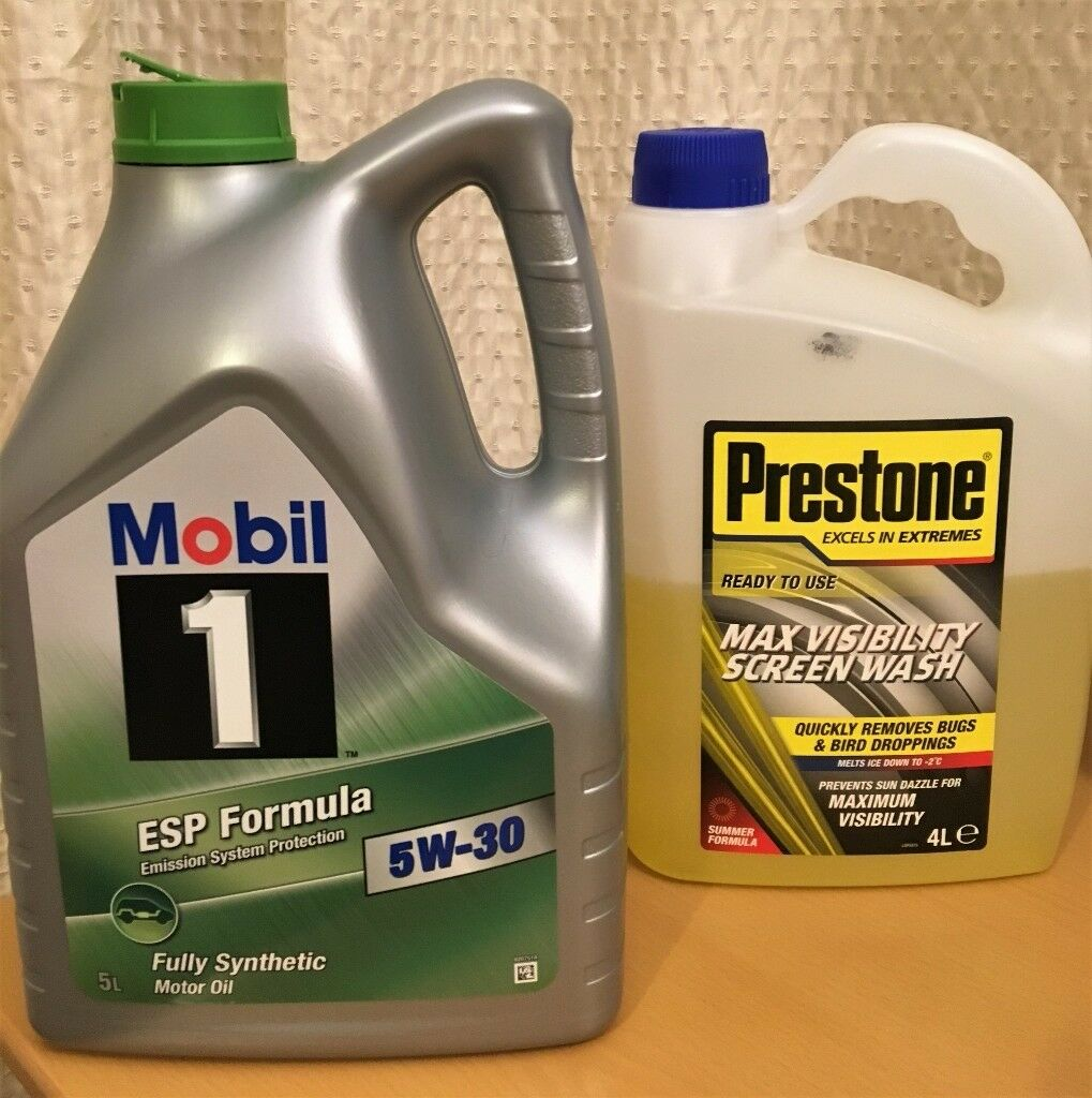 Mobil 1 ESP Formula 5W-30 engine oil 4L (Fully Synthetic) + BONUS