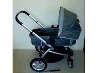 Mothercare My4 Travel System Pram Push-chair Stroller