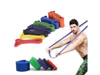 Resistance Bands Strong Heavy Duty Exercise Gym Yoga Fitness UK DELIVERY AVAILABLE