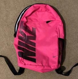 NEW Nike Rucksack Bag Pink