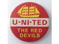 Wanted Man Utd Football Programmes Shirts and Memorabilia