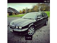 2005 jaguar x-type v6 AWD manual FSH